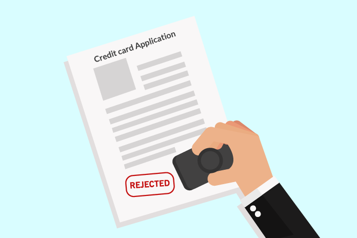 Rejection of credit card